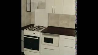 Кухня фото  № 7 алюминиевом профиле цвет Белый. от компании Фаберме - видео