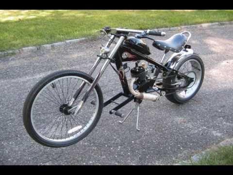 Motorized Chopper Bike