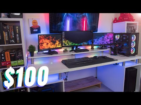My Gaming Desk Only Cost $100 (Build Your Own)