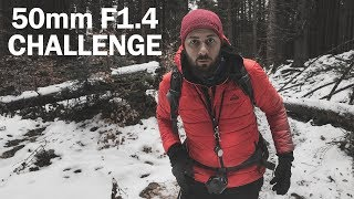 50mm F1.4 Photo Challenge - Panoramic Photography In The Forest