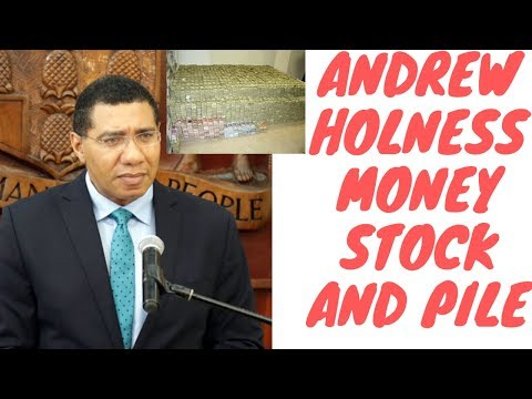 Andrew Holness Net Worth $140 Million According To Commission - How Much Money Does He Really Have?