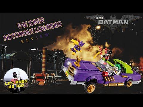 Vidéo LEGO The Batman Movie 70906 : La décapotable du Joker