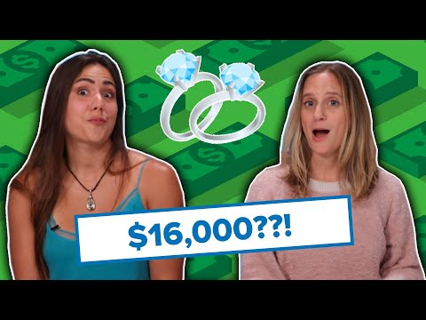 Brides Guess The Cost Of Engagement Rings