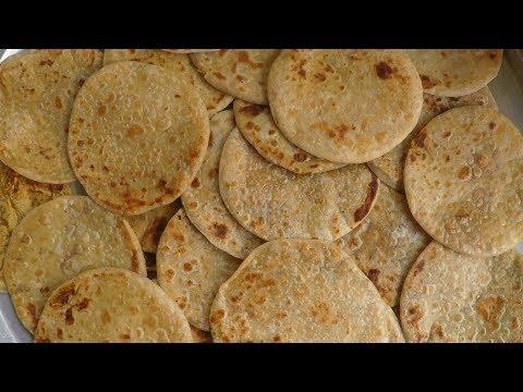 Traditional Sweet In India - Bobbatlu | How To Make Bobbatlu In Sweet Shop Style