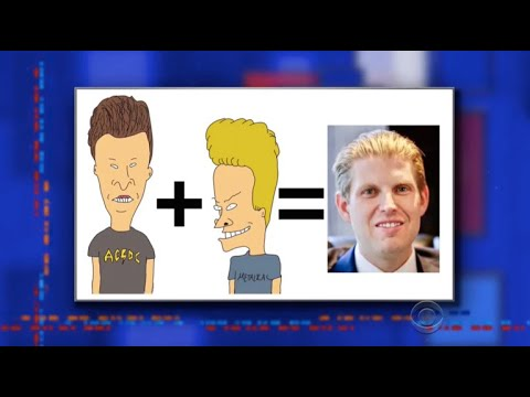 Late Show's Alter Egos III: Trump World