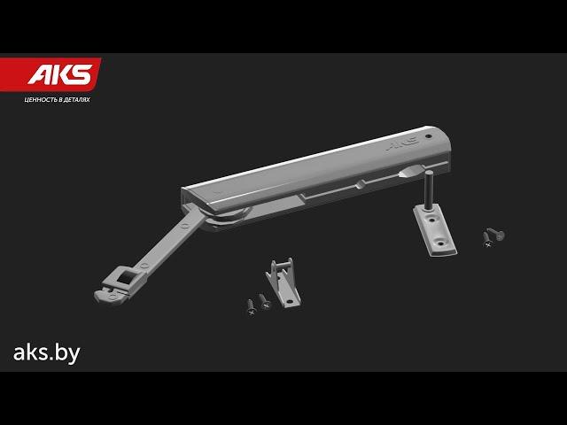 Подъемник KRONOS: установка и монтаж   бренд AKS