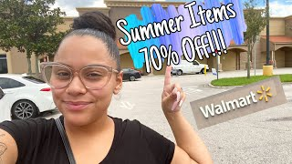 Walmart Clearance!! | Lots Of Summer Items Over 70% OFF!!