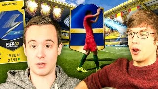 INCREDIBLE!! FIRST BLUE WALKOUT!!!!  - FIFA 17 TOTS PACK OPENING