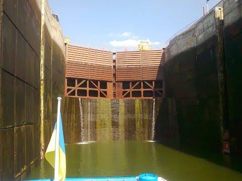 Запорожский шлюз Самый глубокий шлюз в мире ч. 1 (The deepest gateway in the world)