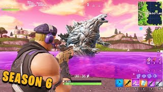 *NEW* The CUBE Summoned A MONSTER In LOOT LAKE!? (SEASON 6 Fortnite Battle Royale)