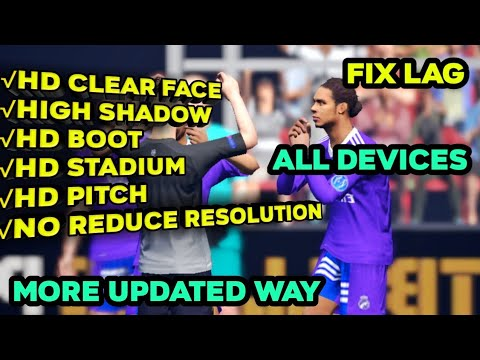 🔥Fix Lag From PES 2019 Mobile 🔥How to Fix Lagging In PES 2019