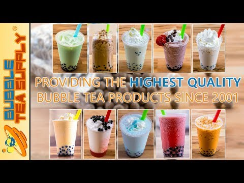 What Makes Bubble Tea Supply Products So Good? Mp3