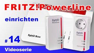 FRITZ Powerline einrichten 1260e, 1220e inkl. FRITZBox 7590 Mesh - Powerline Adapter verbinden #14