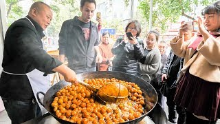 Chinese Street Food LEVEL 9000 -The ULTIMATE Chinese Street Food Tour of Chengdu, China - SICHUAN!