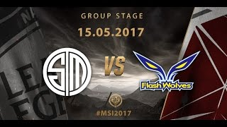 [15.05.2017] TSM vs FW [MSI 2017][Group Stage]