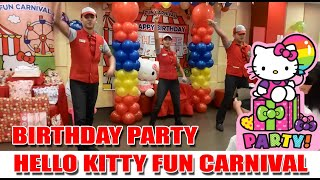 Jollibee Hello Kitty Theme Birthday Party | Welcome Dance