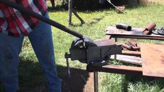 Beginners Fab Ep 36 How To DIY Bend Mild Steel Solid Round Stock
