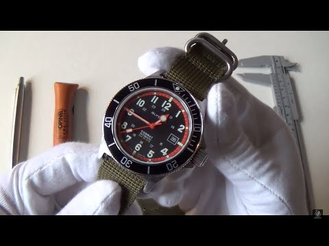 Glycine Combat Sub Automatic Review – The Best Dive Watch Around $1000? +Brand Overview 386319ATND9
