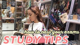 Study Tips And Tricks From A College Student