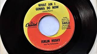 What Am I Gonna Do Now , Ferlin Husky , 1967