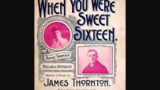 Harry Macdonough - When You Were Sweet Sixteen (1901)