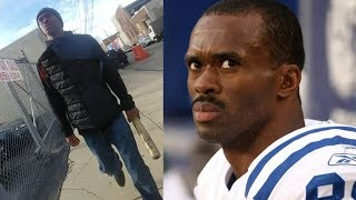 Ex NFL Star Caught on Video ATTACKING A Pedestrian WITH A BAT!