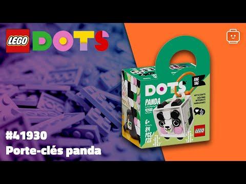 Vidéo LEGO Dots 41930 : Porte-clés panda