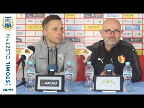 Trenerzy po meczu Stomil Olsztyn - Korona Kielce 2:0