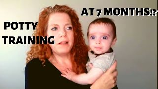 Potty Training our 7 Month Old Baby (Toilet Training / EC)
