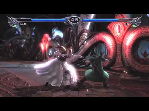 Watch Princess Zelda Beat Up Link In SoulCalibur V