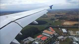 preview picture of video 'Approach & Landing at Dresden Airport'