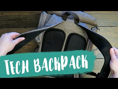 My Favorite Travel Rucksack // Brinch Socko Laptop Backpack Review