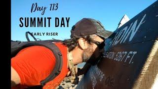 2017 Appalachian Trail Thru Hike Day 113 (Summit Day)