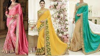Latest Indian Sarees Designs 2019