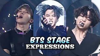 Bts Facial Expressions On Stage