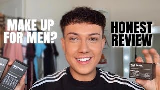 """Would You Let Your Man Wear Make Up? MAKE UP """"FOR MEN"""" REVIEW! WAR PAINT AS SEEN AS DRAGONS DEN."""