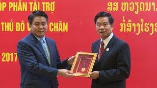 Tin Tức 24h Mới Nhất Hôm Nay: Thúc đẩy hợp tác Hà Nội - Viêng Chăn