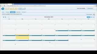 Schedule-Cloud video