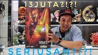 SPEECHLESS!!! UNBOXING HOTTOYS IRONMAN MARK 50 INFINITY WAR !!!! SUPERRR!!!!