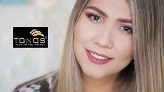 Maquillaje con productos tonos/ Probando sus nuevos labiales liquidos