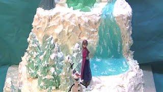 Disneys Frozen  Or Winter Woodland Cake Tutorial