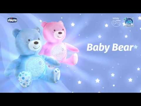 Osito Proyector Baby Bear  Chicco Beige video