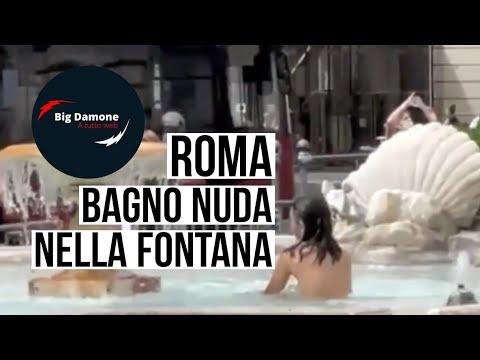 Ρώμη: Πέταξε τα ρούχα της κι έπεσε να δροσιστεί στο συντριβάνι δίπλα στην ιταλική Βουλή