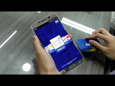 Cara isi ulang uang elektronik BRIZZI dari BRI Mobile