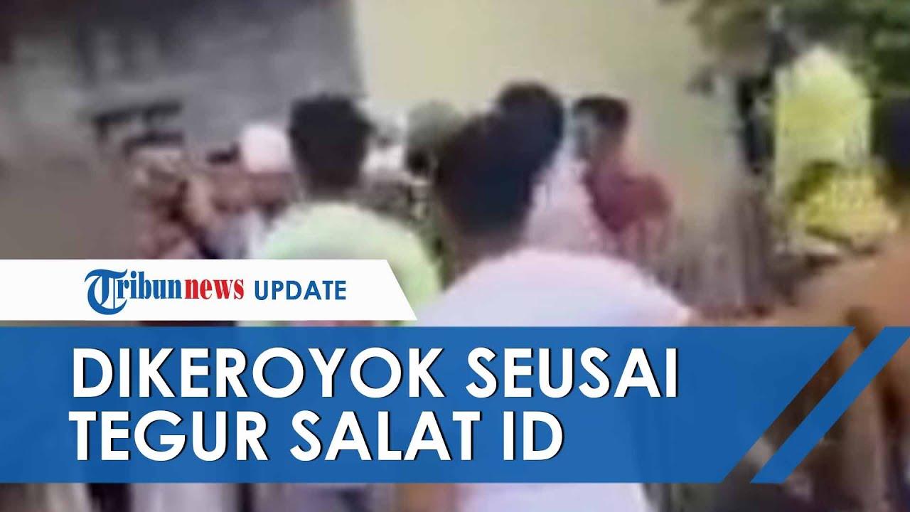 Kronologi Kades di Sulteng Dikeroyok seusai Tegur Jemaah Salat Ied di Masjid saat Pemberlakuan PSBB