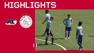 Jeugdvoetbal is terug ? | AZ O18 - Ajax O18 | Oefenwedstrijd