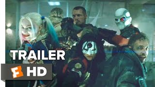 Suicide Squad Official ComicCon Remix Trailer 2016  Margot Robbie Movie