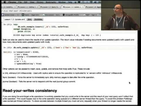 Image from MongoDB and Python