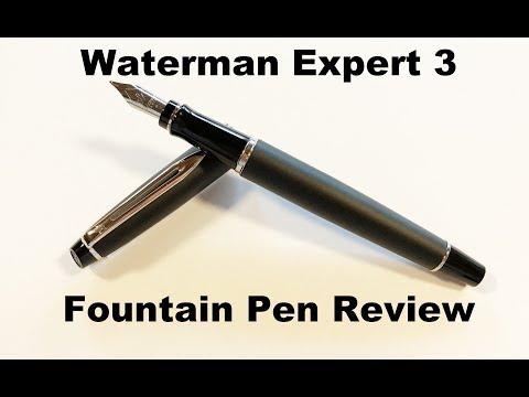 Waterman Expert III Fountain Pen Review