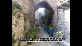 preview picture of video 'montañana, tercui, chiriveta: pueblos medievales'